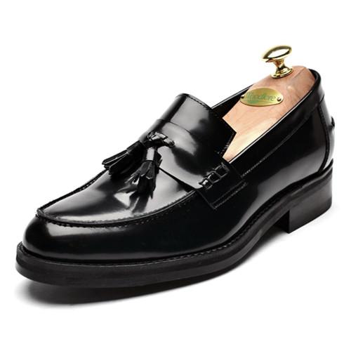 6cmソフトダイナイトタッセルローファー手作り靴(ローレン_CH0006)