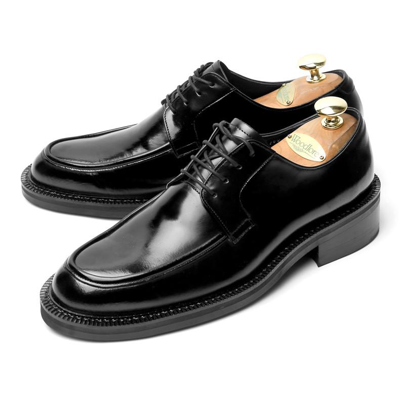 7.5cmユチプダービー靴手作り靴(チーム_EL0186BK)