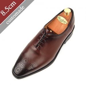 8.5cm背高オックスフォードブログ手作り靴(EL0002BR)