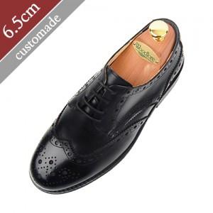 6.5cm背高ウィンチプメダルリアンダービー手作り靴(EL0014BK)