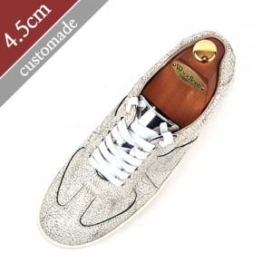 4.5cm背高スニーカー手作り靴(EL0111IV)
