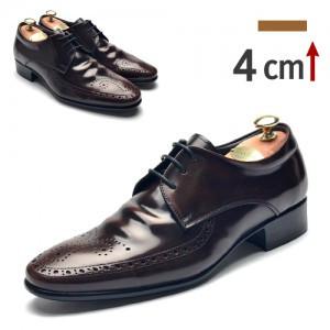 4cm背高のメダルリアンクラシック靴(708BR)
